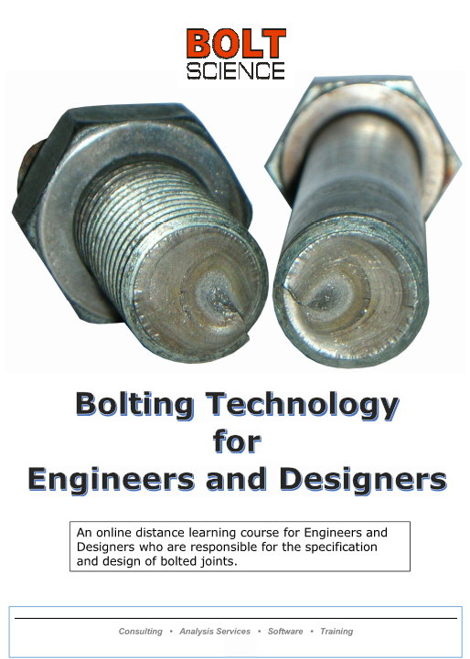 Bolting Technology for Engineers and Designers Brochure